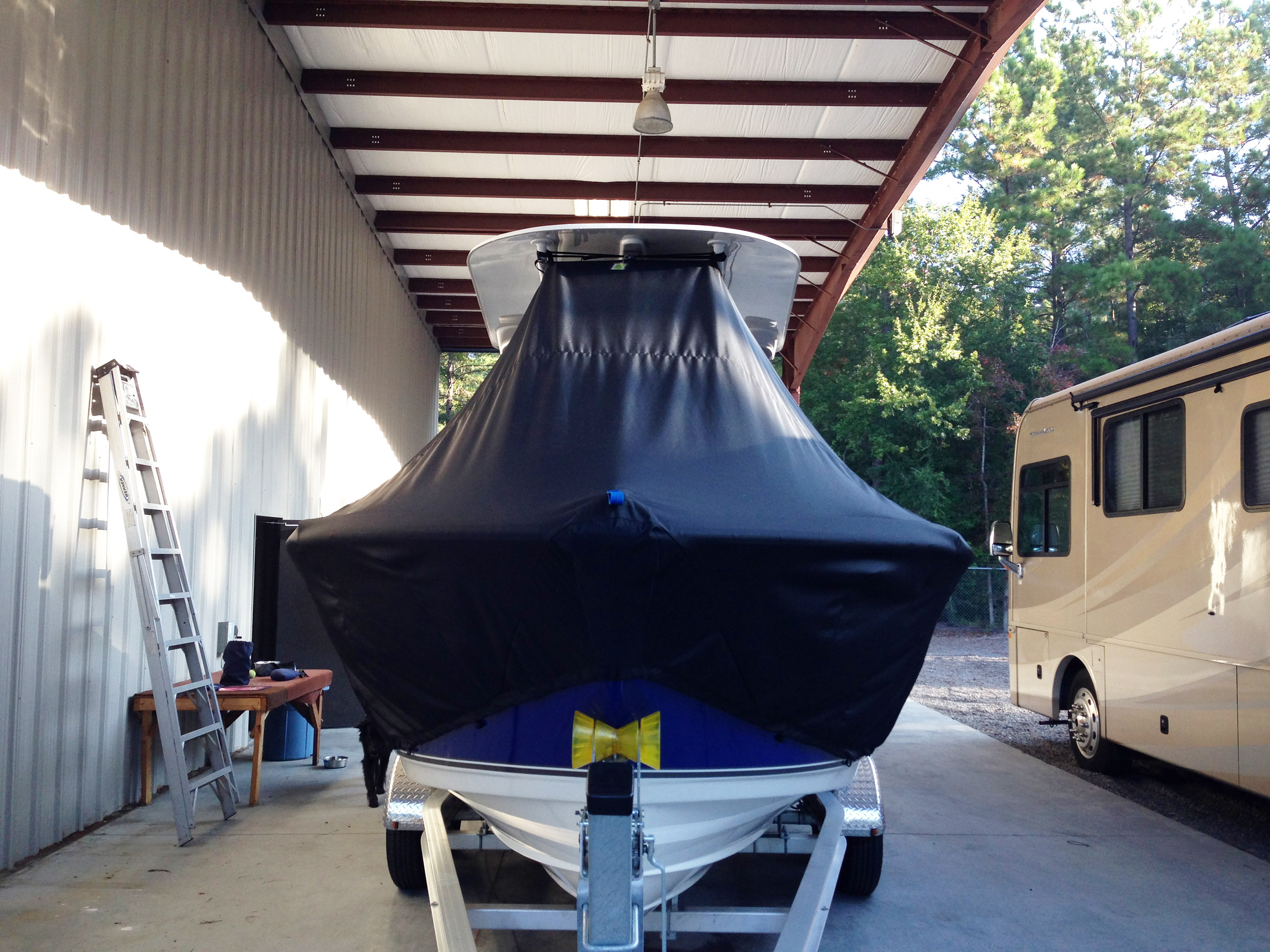 t-top-boat-cover-installation-step-3